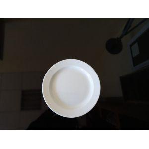 Тарелка мелкая D 17,5см h 2,2см ПРИНЦ, фарфор