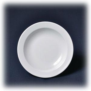 Тарелка глубокая D 22,5см h 4см 400мл ПРИНЦ, фарфор