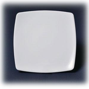 Тарелка квадратная L 19см w 19см h 2см ПРИНЦ, фарфор