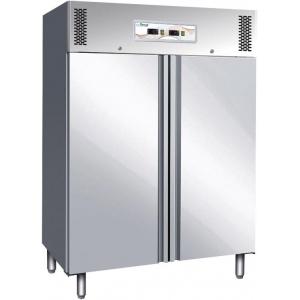 Шкаф комбинированный, GN2/1, 1014л, 2 двери глухие, 6 полок, ножки, -2/+8С и -18/-22С, дин.охл., нерж.сталь