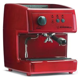 Кофемашина-полуавтомат, 1 группа, бойлер 2л, красная, заливн.