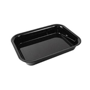 Лоток для выкладки L 30см w 22,5см h 5см, пластик черный