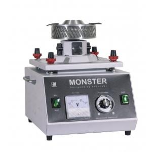 Аппарат сахарной ваты для локаций с очень высокой проходимостью и для производств, горизонтальная подача, сверхвысокая производительность (7-8кг/час)
