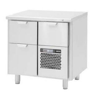Модуль барный холодильный,  860х550х850мм, без борта, 3 выд.секц., ножки, +5/+15С, нерж.сталь, агрегат справа