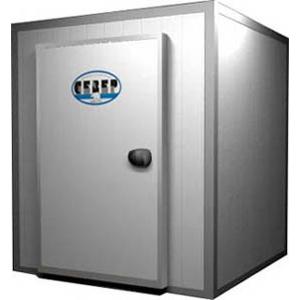 Камера морозильная Шип-Паз,   3.70м3, h2.20м, 1 дверь расп.левая, ППУ80мм