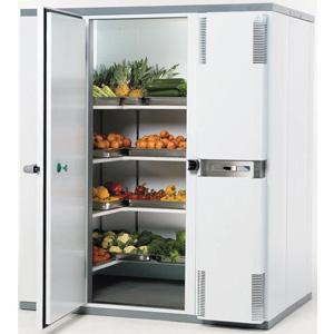 Камера холодильная замковая,   3.50м3, h2.10м, 1 дверь расп.левая, ППУ80мм, правый моноблок (+2/+12С)