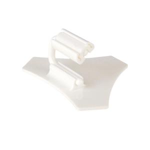 Ценникодержатель L 2см (набор 10шт), поликарбонат белый