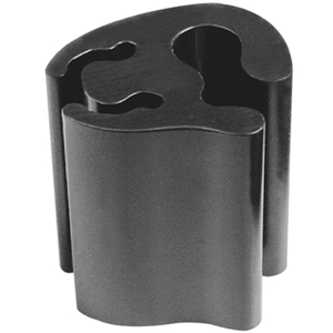 Ценникодержатель L 2,5см (набор 10шт), поликарбонат черный