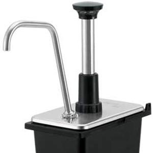 Дозатор д/жидких соусов, д/пласт. GN1/9-150, порция 30мл