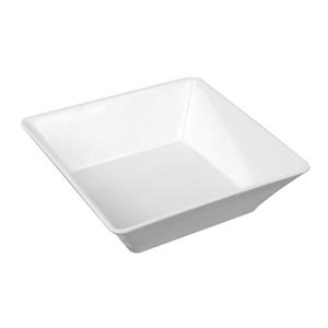 Блюдо для выкладки L 15см w 15см h 4,5см 400мл, пластик белый