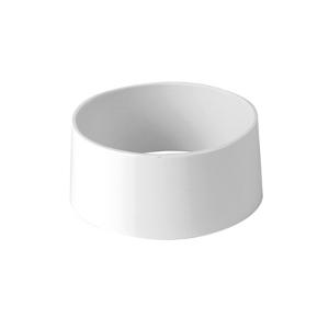 Подставка для блюд D 10см h 5см, пластик белый