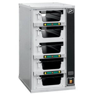 Шкаф-мармит электр., таймеры с 1-ой стороны,  5 ячеек (5х1), 5крышек
