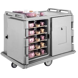 Тележка для доставки блюд на подносах на колесах CAMBRO MDC1520S20-180