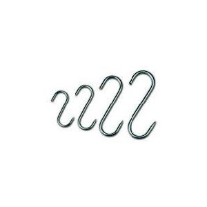 Крюк L 12см двойной (набор 10шт), нерж.сталь