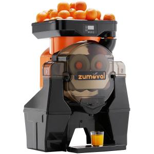 Соковыжималка для цитрусовых и гранатов, электрическая, настольная, автоматическая, 28шт./мин, электронное управление, оранжевая