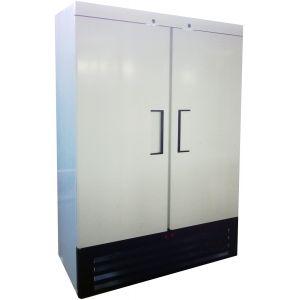 Шкаф холодильный,  760л, 2 двери глухие, 6 полок, ножки, 0/+7С, стат.охл., белый, агрегат нижний