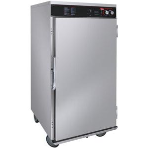 Шкаф тепловой, 12GN2/1 или 24х(660х457мм), 1 дверь распашная глухая, +32/+82С, нерж.сталь, 220V, колеса, электромех.упр., увлажение, расстойка