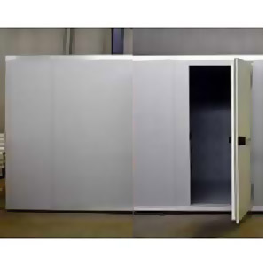Камера холодильная замковая,  24.00м3, h2.12м, 1 дверь расп.правая, ППУ80мм, угловая