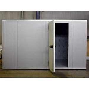 Камера морозильная замковая,  22.80м3, h2.66м, 1 дверь расп.левая, ППУ100мм
