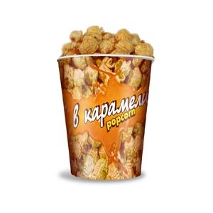 V 32 Стакан бумажный для карамелизированного попкорна