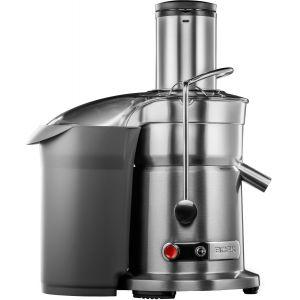 Соковыжималка для овощей и фруктов, электрическая, настольная, центробежная, 2 скорости, стакан д/сока 1л, контейнер д/жмыха 3.5л, нерж.сталь