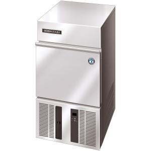Льдогенератор для кускового льда,  22кг/сут, бункер 11.5кг, возд.охлаждение, корпус нерж.сталь, форма «кубик» L 28х28х32мм