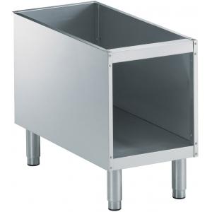 Подставка под оборудование,  400х785х600мм, без столешницы, полузакрытая без двери, нерж.сталь, для линии 900XP