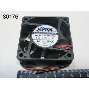 Вентилятор 60х60х25 24V DC 0.15A