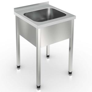 ВМЦ1-067 - ванна моеч., 1 цельнотян.мойка, разб.