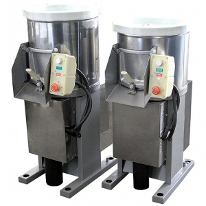 Картофелечистка, загрузка  7кг, 150кг/ч, напольная