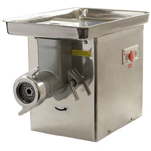 Мясорубка электрическая настольная, 300кг/ч, корпус нерж.сталь, 380V, полный унгер нерж.сталь