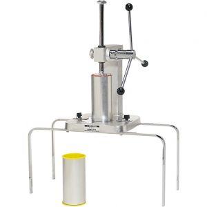Пресс механический для чуррос, 2 цилиндрические емкости д/теста