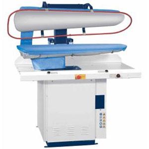 Пресс универсальный гладильный д/прачечной, гладкая поверхность, паровой нагрев, L1.25м