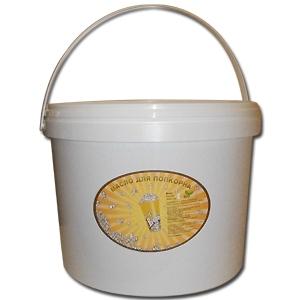 Масло для попкорна желтое (смесь) в пластиковых ведрах, 7.56кг
