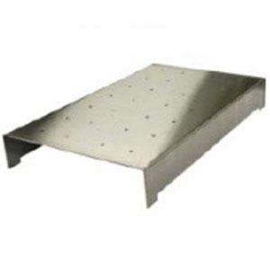 Крышка для GN1/1-65, нержавеющая сталь, перфорированная
