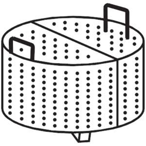 Корзина для котла пищеварочного серии 9001 (100л), 2 секции