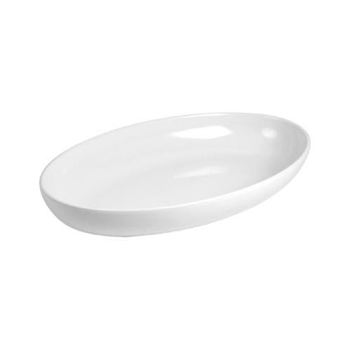 Блюдо для выкладки L 53см w 32,5см h 7,5см овальное, пластик белый