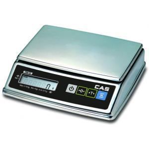 Весы электронные порционные, настольные, ПВ 0.01-2.00кг, дискретность 0.5г, платформа 220х150мм, подкл.комбинированное, корпус нерж.сталь