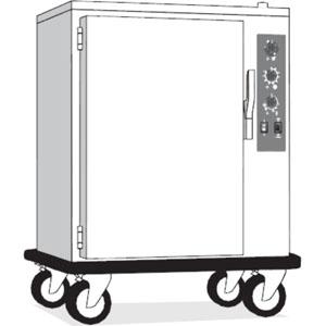 Шкаф тепловой-регенератор, 20GN1/1, 1 дверь распашная глухая, +30/+90С и +30/+160С, нерж.сталь, 380V, колеса, электромех.упр., увлажнение