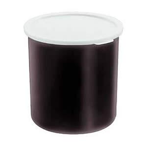 Контейнер D 12,1см h 13,2см 1,14л с крышкой, пластик черный