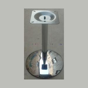 Подстолье, хромированное, основание сферич. D450мм