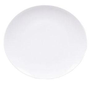 Тарелка мелкая овальная L 21см w 19см ELIPS, фарфор