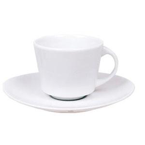 Чашка 100мл с блюдцем ELIPS