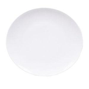 Тарелка мелкая L 29см w 27см овальная ELIPS