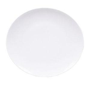 Тарелка мелкая овальная L 26см w 24см ELIPS, фарфор