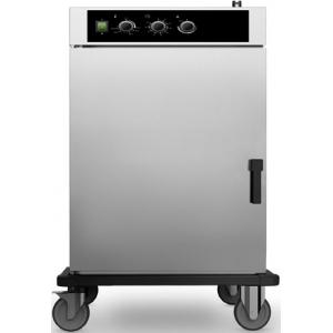 Шкаф тепловой-регенератор, 10GN1/1, 1 дверь распашная глухая, +30/+90С и +30/+160С, нерж.сталь, 380V, колеса, электромех.упр., увлажнение