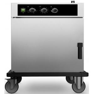 Шкаф тепловой-регенератор,  6GN1/1, 1 дверь распашная глухая, +30/+90С и +30/+160С, нерж.сталь, 220V, колеса, электромех.упр., увлажнение