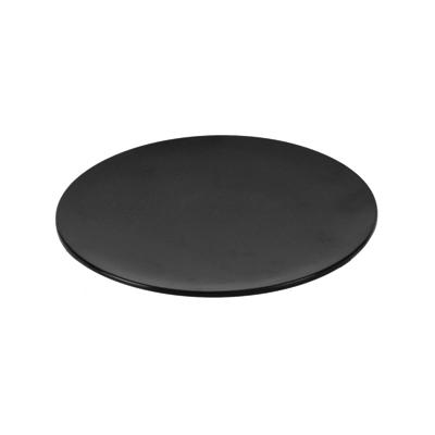 Блюдо для выкладки D 20,8см h 2см, пластик черный