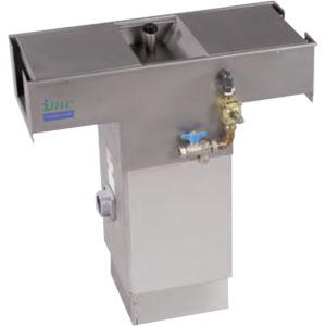 Желоб для слива отходов двойной, промежуточный, H800-905мм, 220В