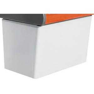 Подставка под витрину холодильную настольную серии Carboma Argo, 1420х670х635мм